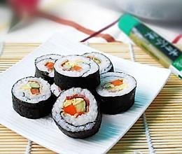 培根寿司的做法