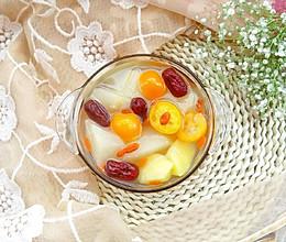 #今天吃什么#金桔雪梨苹果汤水的做法