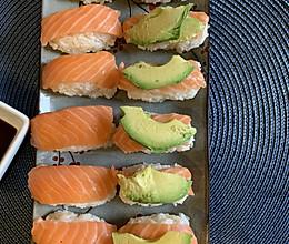 自制简单三文鱼寿司的做法