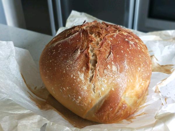 野生酵母酸面包(酸味浓厚)的做法
