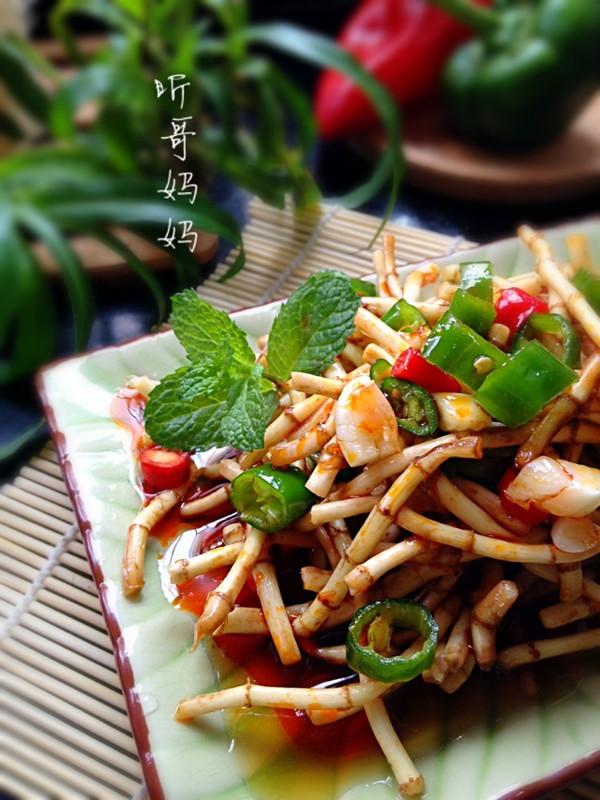 素食之— —凉拌鱼腥草的做法