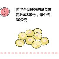 会爆浆的芝士可乐球的做法图解3