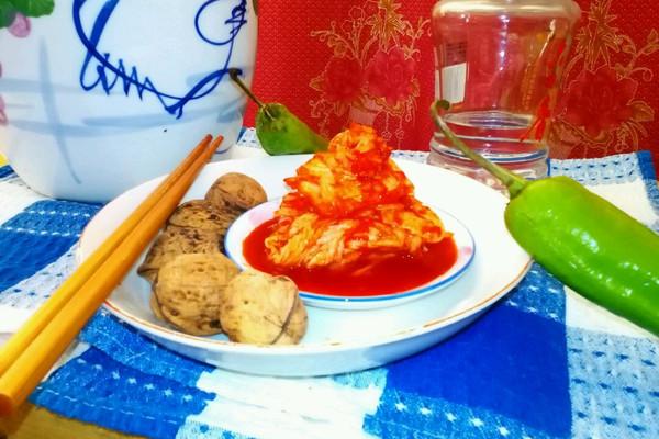 非正宗韩式泡菜-三流的难度制作出二流的味道的做法