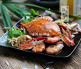 虾蟹一锅焖,鲜到没朋友!的做法