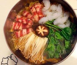 简易寿喜锅的做法