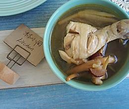 黄花菜鸡腿汤(焖烧罐版)的做法