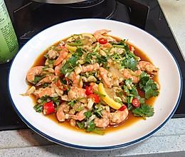 藤椒柠檬虾,10分钟搞定夏日开胃凉拌菜的做法