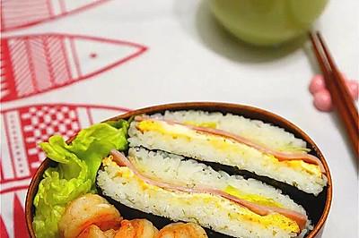 御不握(米饭三明治)#急速早餐#