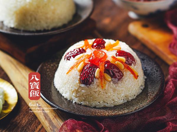 年夜饭系列团团圆圆八宝饭(白糯米)的做法