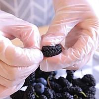 桑葚蓝莓果酱 宝宝辅食食谱的做法图解5