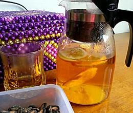 橙子茶的做法