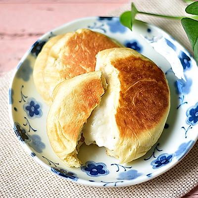 爆浆乳酪面包(平底锅版)