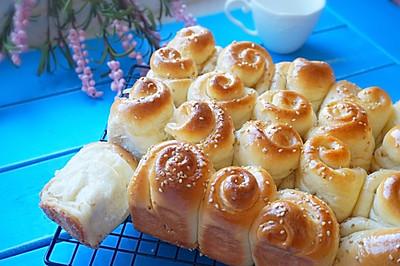 脆底蜂蜜小餐包