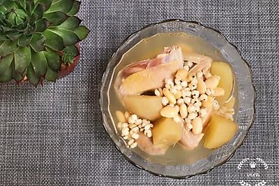 #童年不同样,美食有花样#鹧鸪扁豆双果汤-健脾和胃,老少佳宜