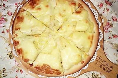 懒人版榴莲披萨