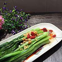 #夏日素食# 白灼广东菜心的做法图解5