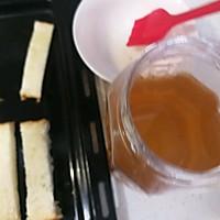 #带着零食去旅行!#香烤杏仁片土司条的做法图解4