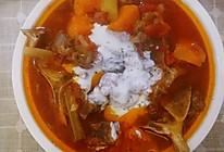 牛脊骨罗宋汤的做法