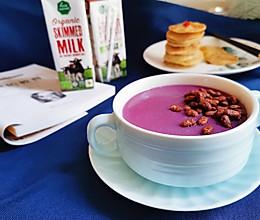 紫薯牛奶汁的做法
