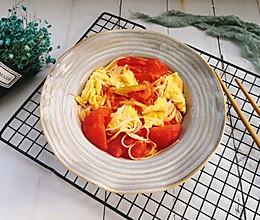 西红柿鸡蛋挂面的做法