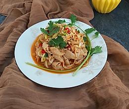 #炎夏消暑就吃「它」# 虾皮拌干豆皮的做法
