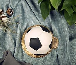 这样的足球不能踢却能吃,世界杯足球蛋糕神还原的做法