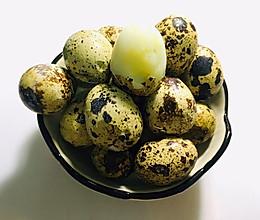 盐焗鹌鹑蛋的做法