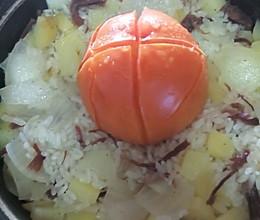 想吃什么加什么的一颗番茄饭的做法