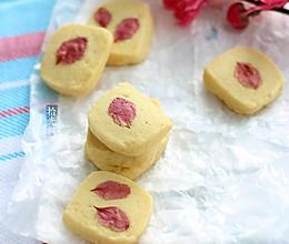 桃花曲奇饼干#甜蜜厨神#的做法