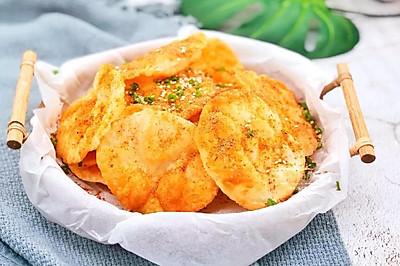 饺子皮脆饼