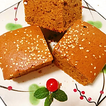 香甜松软枣糕