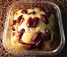 #早餐主食(零失败)#红枣发糕的做法