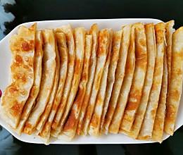 外酥里嫩家常饼;千层饼的做法