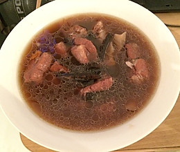 杜仲补腰汤的做法
