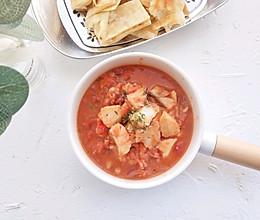 茄汁鳕鱼泡饼的做法