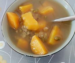 番薯绿豆糖水的做法