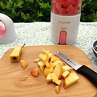 蜂蜜花红柚子汁的做法图解6