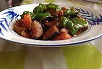 鱼香茄子 茄子西红柿青椒的做法