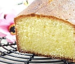 无泡打粉版磅蛋糕的做法