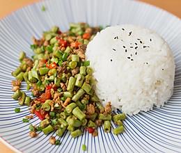 雪菜肉末豇豆的做法