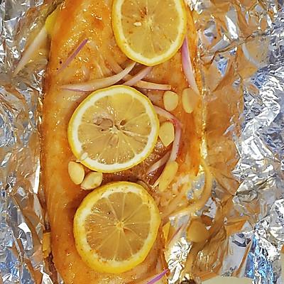 清新柠檬烤龙利鱼