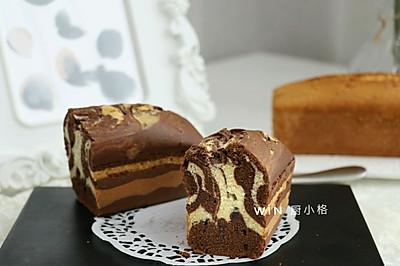 法式大理石磅蛋糕#挚爱烘焙,你就是MOF#