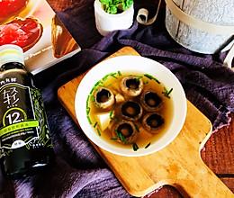 #味达美名厨福气汁,新春添口福#口蘑汤的做法