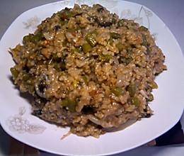 咸干饭 之 苏州豆角饭的做法