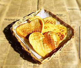 奶香玉米面饼的做法