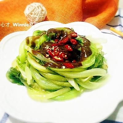 私房家常菜【麻香拌生菜】