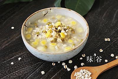 绿豆薏米燕麦粥——夏日养生早餐