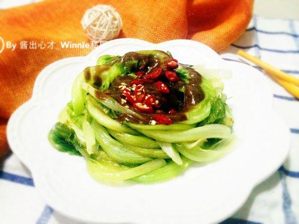 私房家常菜【麻香拌生菜】的做法