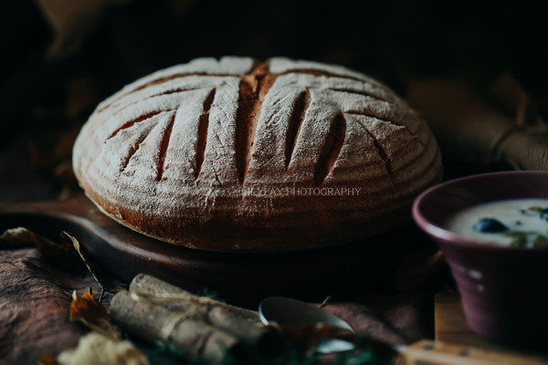 全麦乡村软欧面包的做法