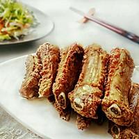 蒜香排骨#金龙鱼外婆乡小榨菜籽油#的做法图解4